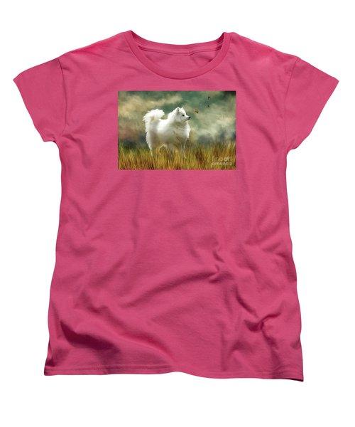 A Brief Encounter Women's T-Shirt (Standard Cut) by Lois Bryan