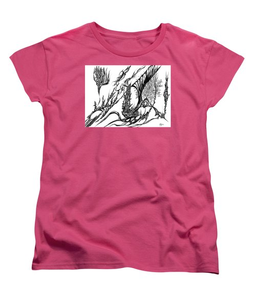 A Different Slant Women's T-Shirt (Standard Cut) by Charles Cater