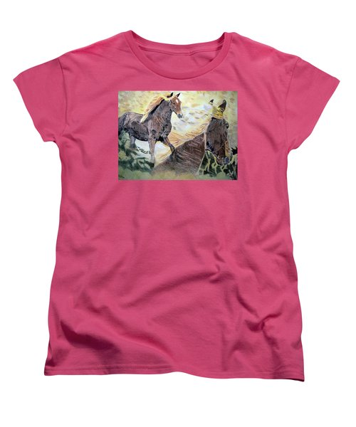 A Dream Women's T-Shirt (Standard Cut) by Melita Safran