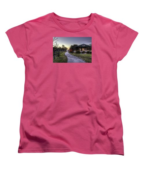 A Hometown Christmas Women's T-Shirt (Standard Cut)