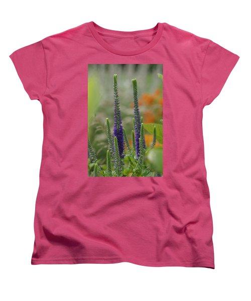 Women's T-Shirt (Standard Cut) featuring the photograph A Lancaster Garden by Greg Graham