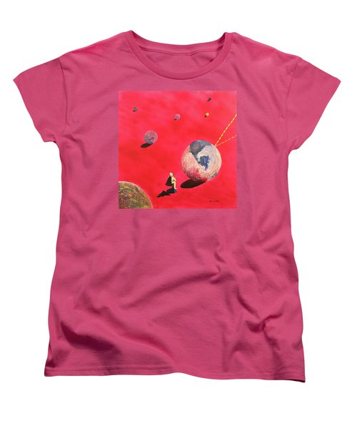 A Lot To Think About Women's T-Shirt (Standard Cut) by Thomas Blood