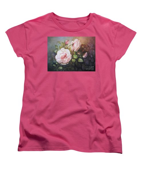 A Moment In Time Women's T-Shirt (Standard Cut) by Patricia Schneider Mitchell