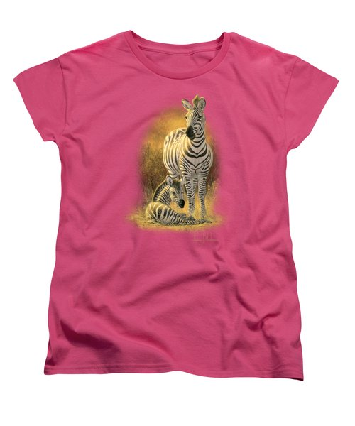 A New Day Women's T-Shirt (Standard Cut) by Lucie Bilodeau