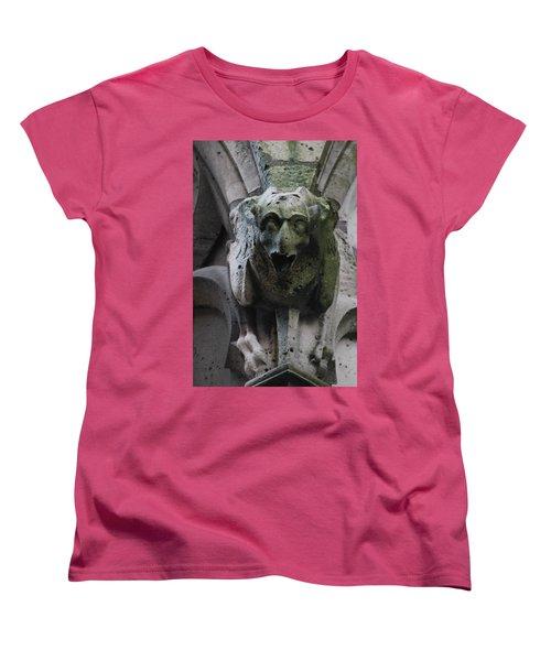 Women's T-Shirt (Standard Cut) featuring the photograph A Notre Dame Griffon by Christopher Kirby