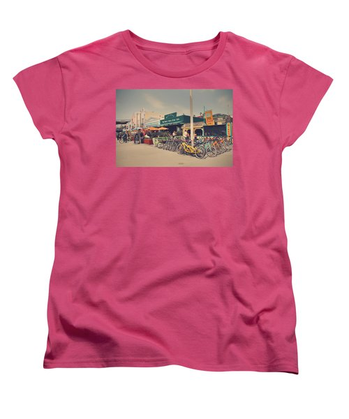 A Perfect Day For A Ride Women's T-Shirt (Standard Cut) by Laurie Search