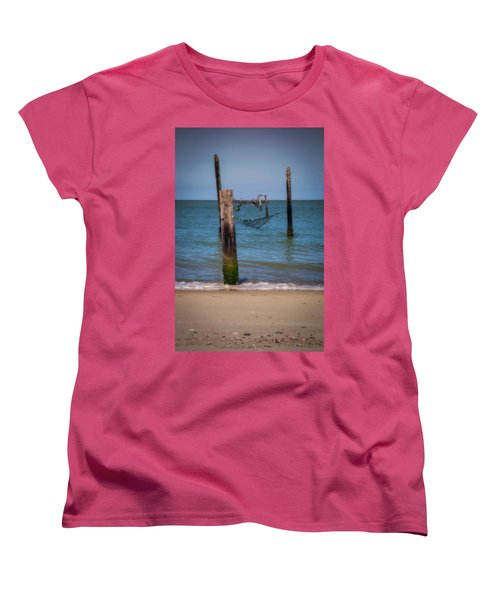 A Study Of Threes Women's T-Shirt (Standard Cut) by David Cote
