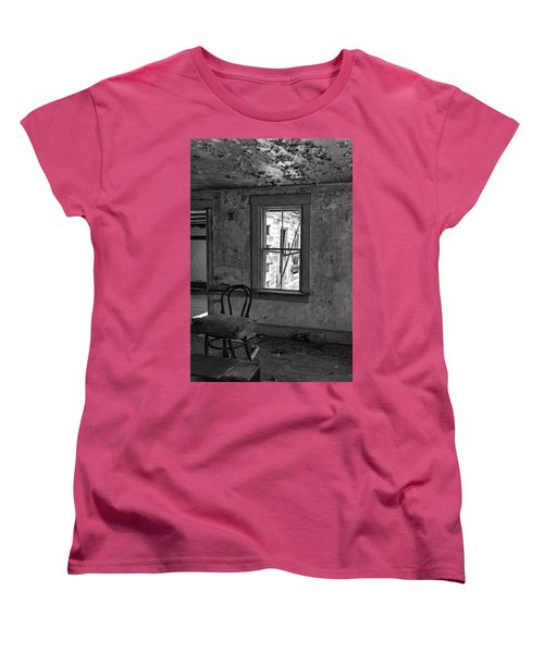 Abandon House Living Room Women's T-Shirt (Standard Cut) by Betty Pauwels