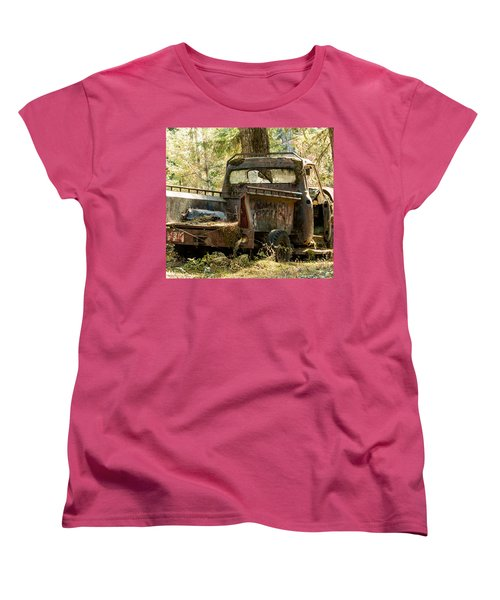 Abandoned And Abused Women's T-Shirt (Standard Cut) by E Faithe Lester
