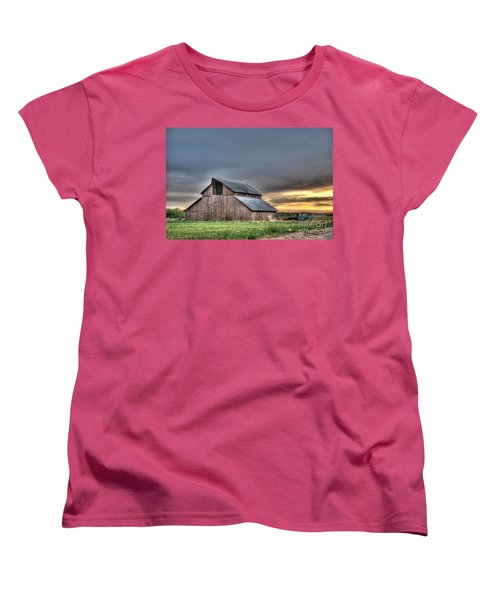 Women's T-Shirt (Standard Cut) featuring the photograph Abandoned by Jim and Emily Bush