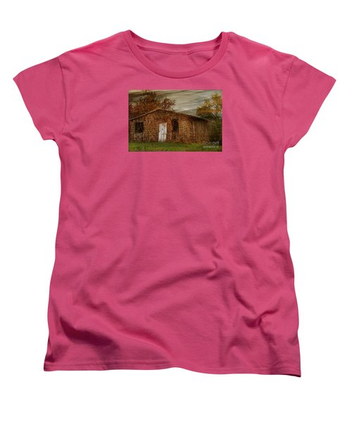 Women's T-Shirt (Standard Cut) featuring the photograph Abandoned by Tamera James