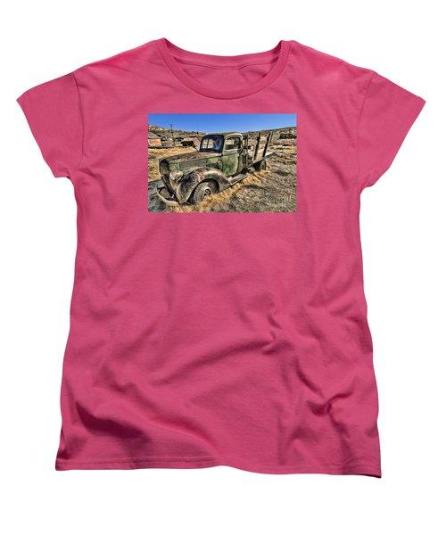 Abandoned Truck Women's T-Shirt (Standard Cut) by Jason Abando