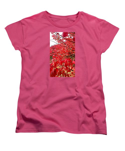 Ablaze Women's T-Shirt (Standard Cut) by Jana E Provenzano
