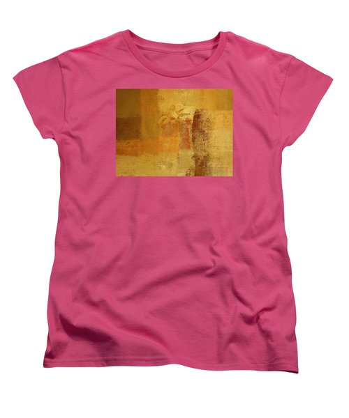 Abstract Floral - 14v2ct01a Women's T-Shirt (Standard Cut) by Variance Collections