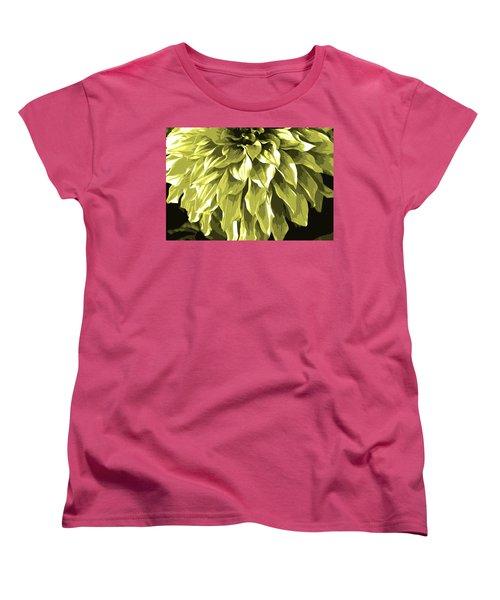Abstract Flower 5 Women's T-Shirt (Standard Cut) by Sumit Mehndiratta