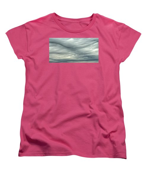 Abstract Of The Clouds 2 Women's T-Shirt (Standard Cut) by Gary Slawsky