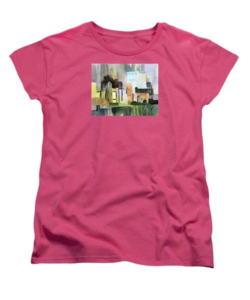 Abstract Opus 5 Women's T-Shirt (Standard Cut) by Larry Hamilton