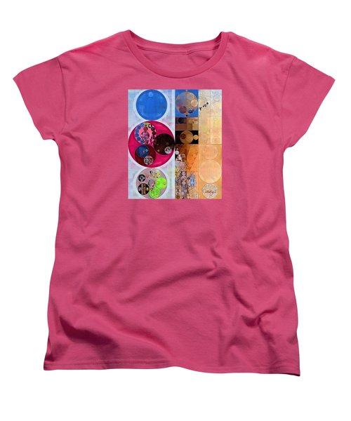 Abstract Painting - Wafer Women's T-Shirt (Standard Cut) by Vitaliy Gladkiy