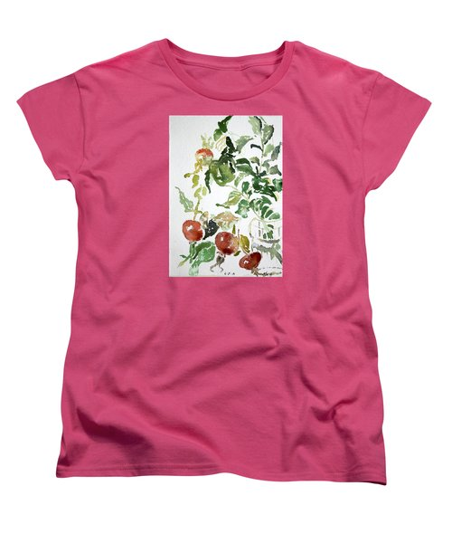 Abstract Vegetables Women's T-Shirt (Standard Cut)