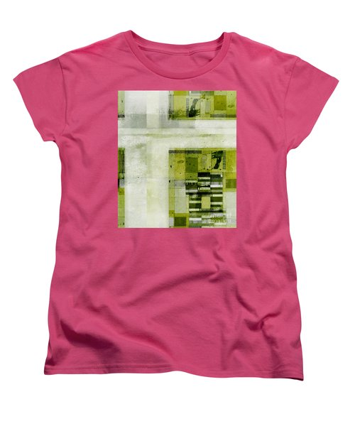 Women's T-Shirt (Standard Cut) featuring the digital art Abstractitude - C4bv2 by Variance Collections