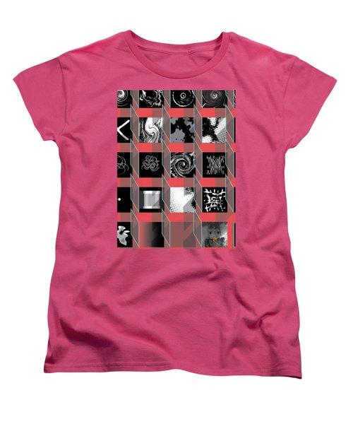 Advent Calendar Women's T-Shirt (Standard Cut) by Stan  Magnan
