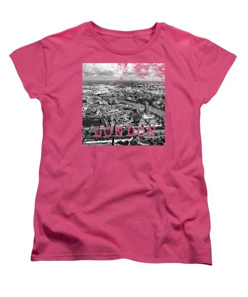Aerial View Of London Women's T-Shirt (Standard Cut) by Mark Rogan