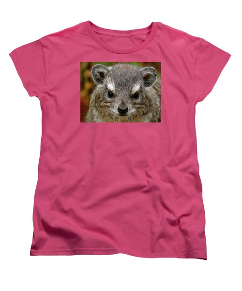 African Animals On Safari - A Child's View 6 Women's T-Shirt (Standard Cut) by Exploramum Exploramum
