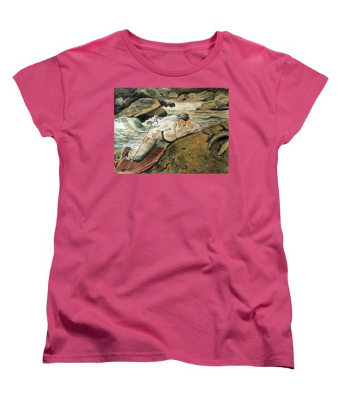 After Sargent Women's T-Shirt (Standard Cut) by Nancy Kane Chapman