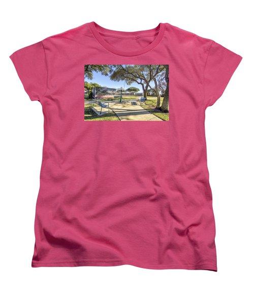 Afternoon Tennis Women's T-Shirt (Standard Cut) by Ricky Dean