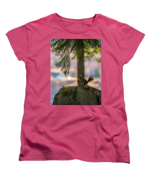 Against Brighter Times Women's T-Shirt (Standard Cut) by Rose-Marie Karlsen