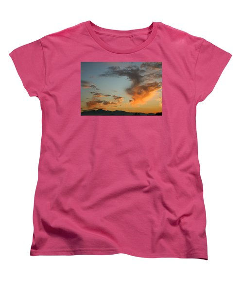 Women's T-Shirt (Standard Cut) featuring the photograph Air Ball Cough by Marie Neder