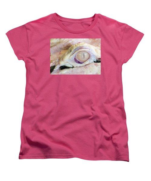 Albino Alligator Women's T-Shirt (Standard Cut) by Lamarre Labadie