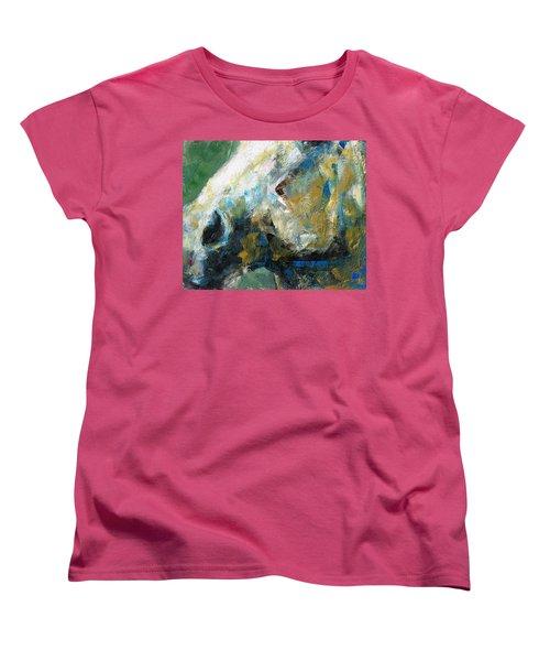 Alerted Women's T-Shirt (Standard Cut) by Frances Marino