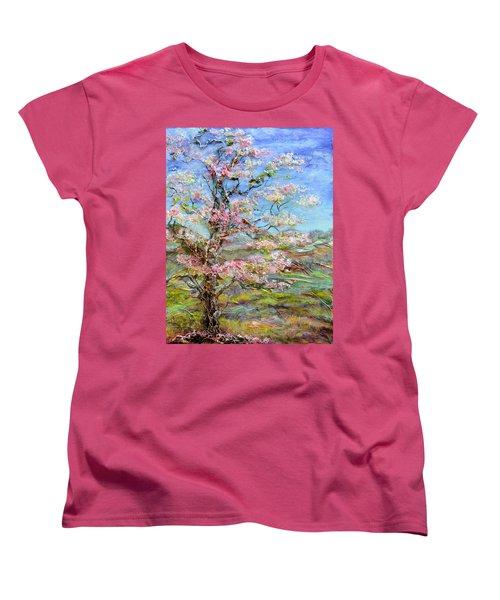 Alive Women's T-Shirt (Standard Cut) by Regina Valluzzi