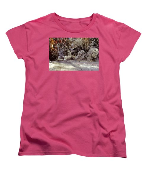 All Roads Lead Home Women's T-Shirt (Standard Cut) by Sabine Jacobs