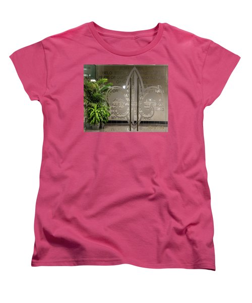 Women's T-Shirt (Standard Cut) featuring the photograph Alma Mater by Gregory Daley  PPSA