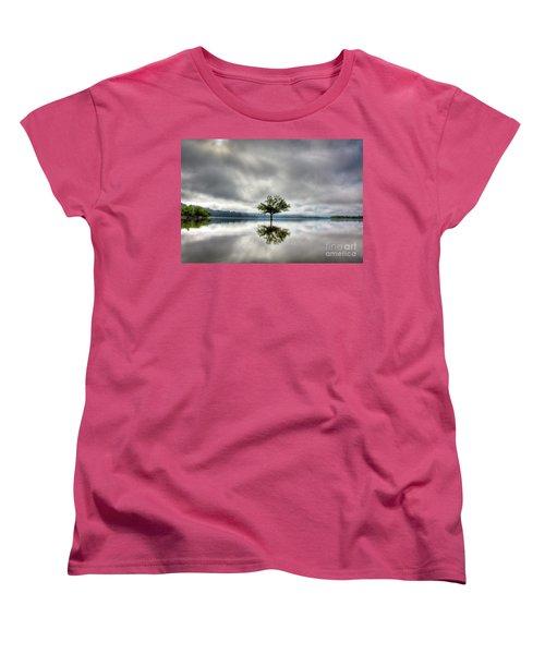 Women's T-Shirt (Standard Cut) featuring the photograph Alone by Douglas Stucky