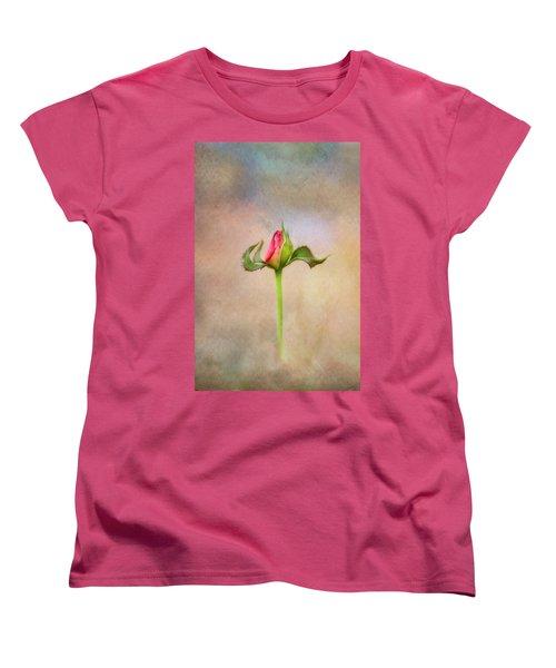 Alone Women's T-Shirt (Standard Cut) by Joan Bertucci