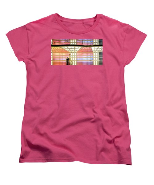 Along For The Ride Women's T-Shirt (Standard Cut) by John McArthur