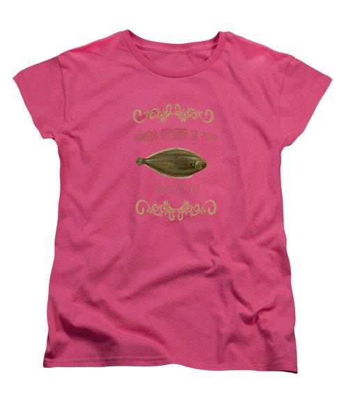 Always Believe In Your Sole  Women's T-Shirt (Standard Cut)