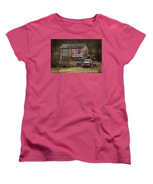 American Dream Women's T-Shirt (Standard Cut) by Ray Congrove