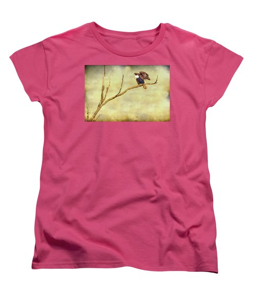 Women's T-Shirt (Standard Cut) featuring the photograph American Freedom by James BO Insogna
