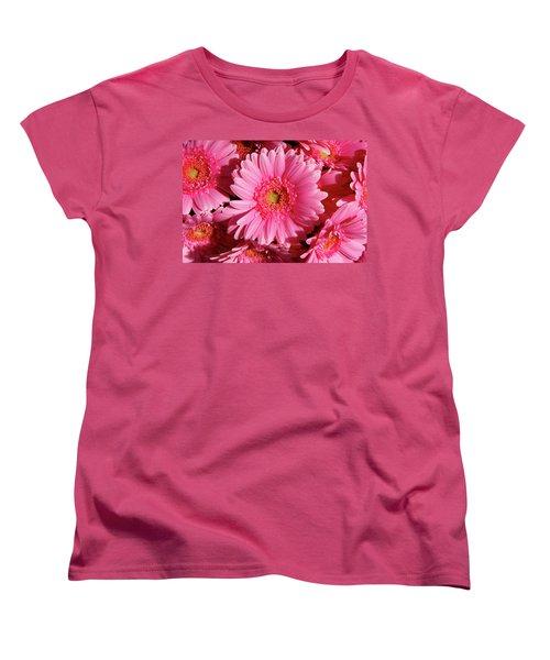 Women's T-Shirt (Standard Cut) featuring the photograph Amsterdam In Pink by KG Thienemann