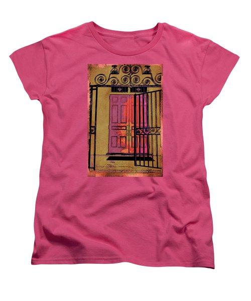 An Open Gate Women's T-Shirt (Standard Cut)