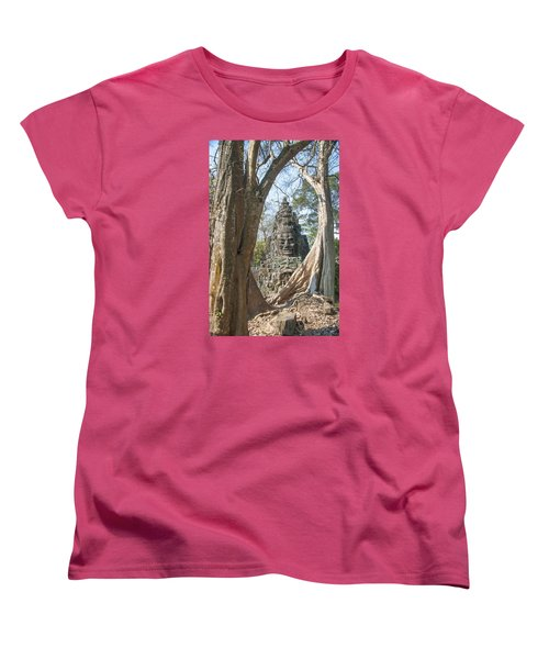 Angkor Thom South Gate Women's T-Shirt (Standard Cut) by Rob Hemphill
