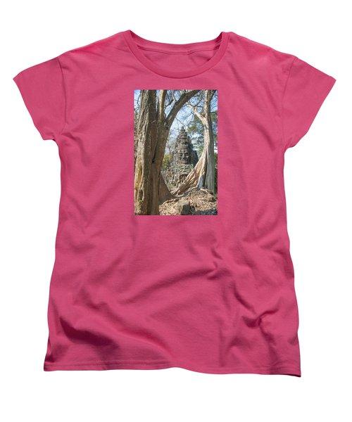 Angkor Thom South Gate Women's T-Shirt (Standard Cut)