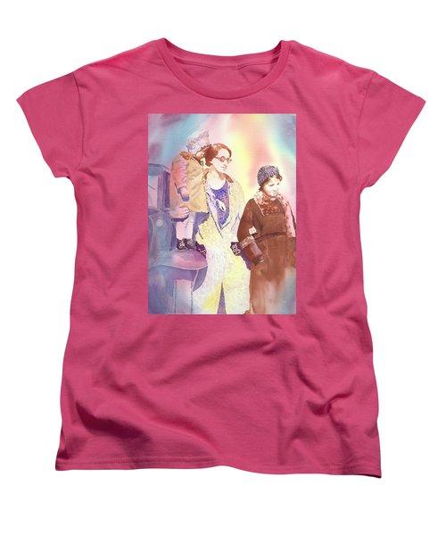 Anna Nation And Her Girls, 1932      Women's T-Shirt (Standard Cut) by Tara Moorman