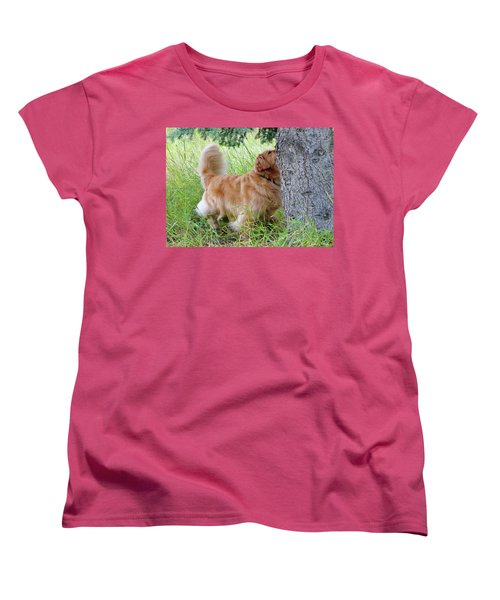 Women's T-Shirt (Standard Cut) featuring the photograph Anticipation by Rhonda McDougall