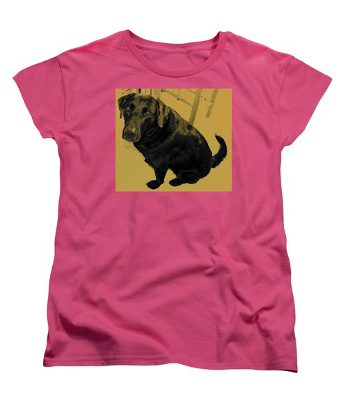 Women's T-Shirt (Standard Cut) featuring the photograph Any Chance I Can Go With You by Lenore Senior