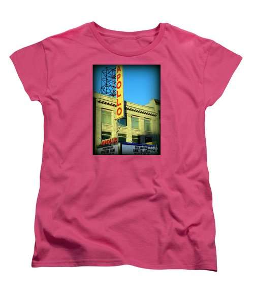 Apollo Vignette Women's T-Shirt (Standard Cut) by Ed Weidman